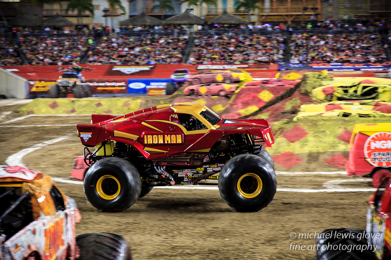 Monster Jam Michael Lewis Glover Fine Art Photography