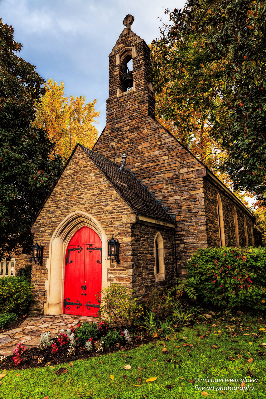 Trinity Episcopal Church Michael Lewis Glover Fine Art Photography